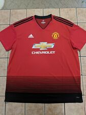 37a4eb9dd Paul Pogba Manchester United 18 19 Home Shirt Adidas Replica Jersey NWT 2XL