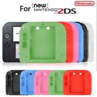 For Nintendo 2DS Anti-Slip Silicone Bumper Case Protective Full Body Cover Skin