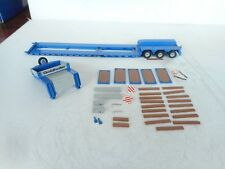 1:50 GOLDHOFER HEAVY DUTY TRANSPORT ONLY  TRAILER IN BLUE