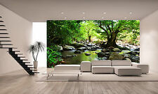 Forest Creek Wall Mural Photo Wallpaper GIANT DECOR Paper Poster Free Paste