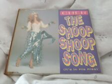 "Cher - ""The Shoop Shoop Song"" (1991) RARE! UK CD Single (Ex)"