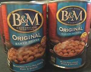 B&M Baked Beans Original Flavor 16 Ounce Cans (Pack of 6) Six Pack