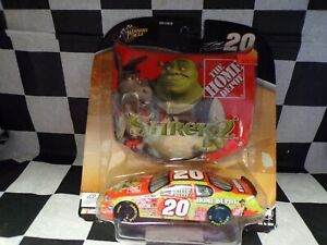 Winners Circle Tony Stewart Home Depot Shrek 2 #20 1/43 Chevy Mote Carlo & Hood
