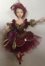 Katherine's Collection Retired Ballerina Fairy Ornament NOS