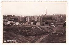 BELGIUM,COURCELLES, Motte Rue Glacerie Vintage postcard