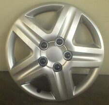 HUBCAP SET OF FOUR - 16 INCH - SILVER FIVE STAR  (FIVE SPOKE)