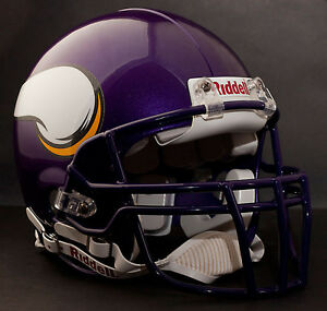 RANDY MOSS Edition MINNESOTA VIKINGS Riddell AUTHENTIC Football Helmet NFL