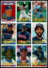 FOUR Mint 1984 YOUNT - REGGIE JACKSON Donruss Promo Sheets for only $9.99
