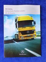 Mercedes-Benz Actros Fernverkehr 18-26 Tonnen - Prospekt Brochure 12.1999