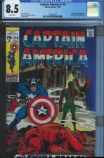 CGC 8.5 CAPTAIN AMERICA #119 FALCON 3RD APPEARANCE WHITE PAGES