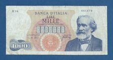 ITALIA // ITALY -- 1000 LIRE ( 20.5.1966 ) -- BC // F -- PICK 96d .