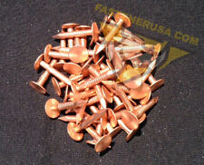"""7/8"""" Smooth Plain Shank Solid Copper Roofing Nails 11 gauge (50 pcs)"""