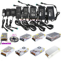 AC DC Power Supply Adapter Transformer 12V 2/3/5/10/20/30/50A for 5050 LED Strip