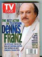TV Guide Magazine July 17-23 1999 Dennis Franz EX 050916jhe