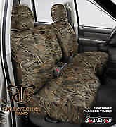 SeatSaver Seat Protector: 2004 Fits CHEVROLET S10 CREWCAB (True Timber, Flood...