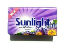 Sunlight with Nil Manel Fragrance laundry bar soap 115g High Quality Product