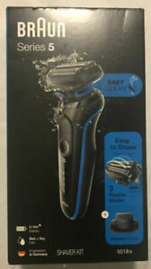 Braun Series 5 - 5018s Wet / Dry Shaver - New in Box