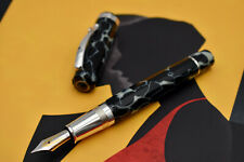 OMAS Grand Paragon (The Paragon) Wilde Celluloid Fountain Pen w/ 925 Silver F