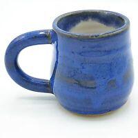 Handcrafted Little Blue Pottery Mug