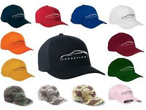 Chrysler Crossfire Coupe Classic Color Outline Design Hat Cap NEW