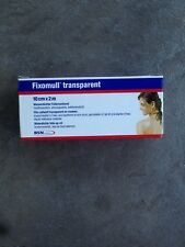 Fixomull transparent 10cm x 2m 1 Stück