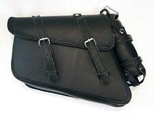 MOTORCYCLE Solo Saddle Bag Swing arm SIDE BAG for Harley Sportster Super Low