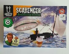 Uberstix Scavenger Recycling Series Pirate Ship & UFO model kit CONTENTS SEALED