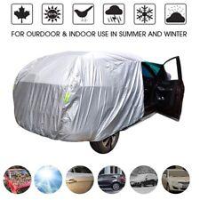 Car Full Cover Sedan Sun Rain Snow Weather Outdoor Universal UV Resistant Indoor