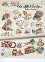 50 Cross Stitch Designs Pattern by Sam Hawkins