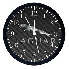 Jaguar Black Frame Wall Clock Nice For Decor or Gifts W453