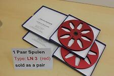 "Tonbandspule 7""  177,6 mm,  1 Paar für kl. Nagra, Grundig, Saba, -NEU- Nr. LN3"