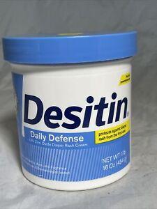 DESITIN Daily Defense Diaper Rash Cream 16 oz
