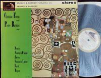 Rare *Factory Sample* Ferras Barbizet Ravel Enesco Debussy LP HMV ASD 531 UK ED1