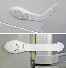 QUALITY 4x Child Toddler Safety Multifunctional Lock for Fridge Drawer Toilet 3M
