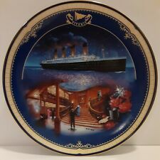 """New ListingBradford Exchange Limited Edition The Grand Staircase Titanic Collector Plate 8"""""""