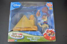 Little Einsteins Pyramid Egypt Mission Playset Set & Extra Figures, Disney Lot
