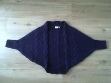 ESPRIT 3/4-Arm Strick-Bolero in blau, Gr. M