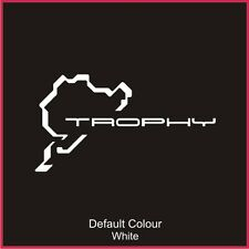 Trophy Nurburgring Race Circuit Decal, Track, Vinyl, Sticker, Graphics, N2018