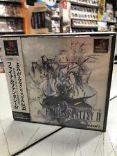 Final Fantasy IV NTSC-JAP PS1 PSX NUOVO SIGILLATO