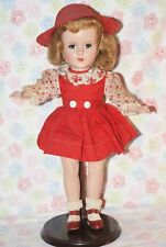 "Beautiful! Vintage Hard Plastic 14"" Sweet Sue Strung Doll All Original"