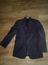 Boys Izod Navy Blue Suit Jacket Sz 18 Reg Super Nice!!