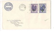 Netherlands 1953 Paquebot cover New York SS Niew Amsterdam (bap)