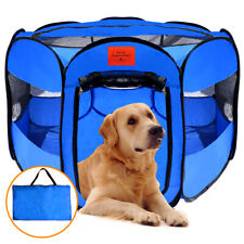 Pop Up Pet Playpen portable Dog doggy kennel Cat kitty tent shade exercise pen
