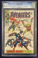 Avengers #58 CGC 8.5 WHITE PAGES Marvel 1968 2nd Appearance & Origin of Vision