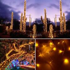 20M 200 LED Yellow Lights Decorative Christmas Party Festival Twinkle CLSV 01