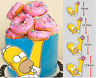 Homer Simpson PRE-CUT Edible Icing Cake Topper Image Party Decoration #824
