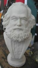KARL MARX BUST -- Resin Statue Russian Figure Communist Soviet Sculpture USSR !!
