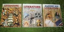 Literature For Life And Work High School Grades 9-11 Lot 3 McGraw Homeschool LOT