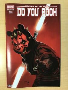 Do You Pooh DARTH MAUL Star Wars Homage Variant Cover Marat Mychaels DARTH POOH