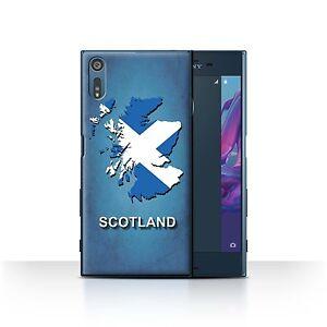 STUFF4 Case/Cover for Sony Xperia XZ/F8332/Flag Nations/Scotland/Scottish